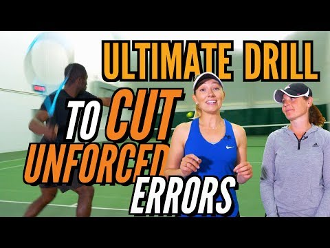 Ultimate Drill to Cut Unforced Errors (Tennis Lesson)