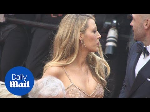 Leading lady Blake Lively dazzles in a nude hue in Cannes - Daily Mail