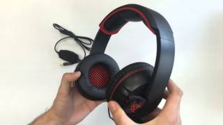 unboxing auriculares netway stroke 7 1 pcbox gaming