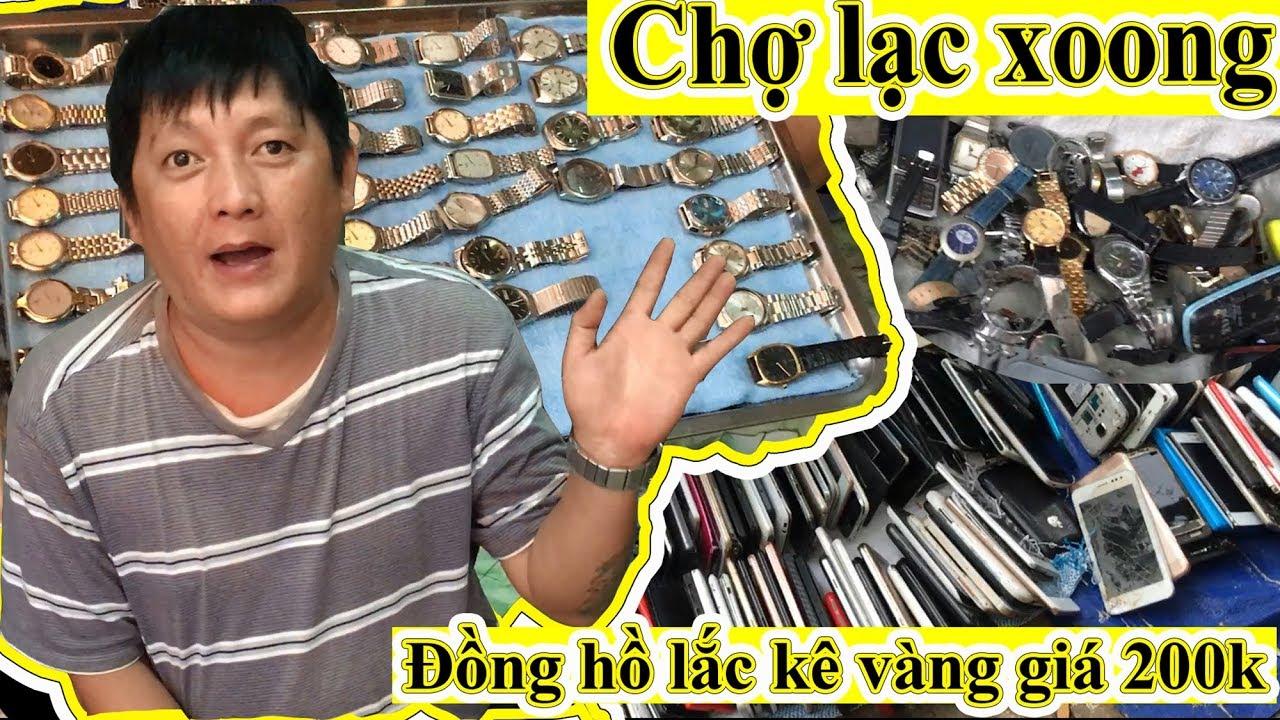 Đi Chợ Lạc Xoong, Ve Chai, Đồ Cũ Nhật Tảo Mua Đồng Hồ Lắc Kê Vàng Giá 200 Ngàn