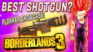 BEST SHOTGUN? Flakker Legendary Showcase! Borderlands 3 Flakker Shotgun Legendary Review. Flakker