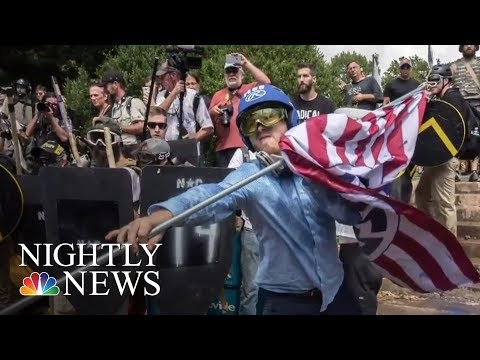 Fact-Checking President Donald Trump's Claims About Charlottesville | NBC Nightly News