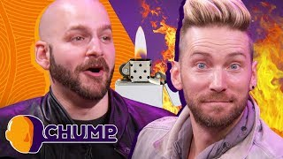 Did Troy Baker Set Himself on FIRE? - CHUMP | Rooster Teeth