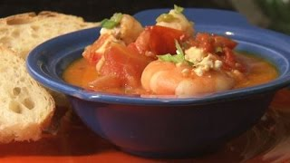 Shrimp And Scallop Bake With Tomato And Feta - America's Heartland: Farm To Fork With Sharon Profis