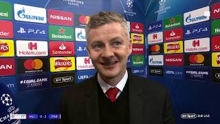 """Mountains are there to be climbed"" Ole Gunnar Solskjær reacts to his first Man Utd defeat"