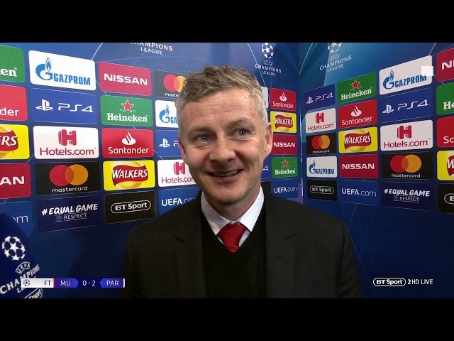 """""""Mountains are there to be climbed"""" Ole Gunnar Solskjær reacts to his first Man Utd defeat"""