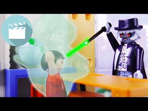PLAYMOBIL GHOSTBUSTERS   Dr. EVIL verwandelt NILS in einen GEIST!   Playmobil Film Deutsch