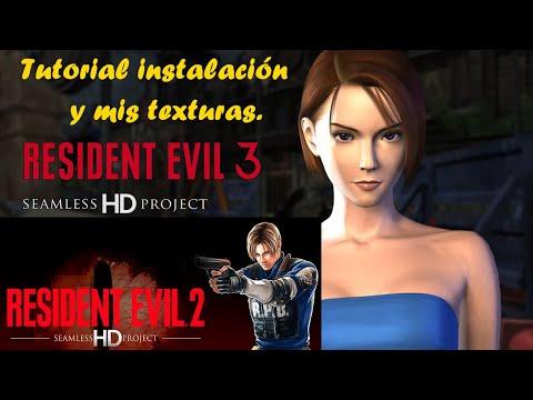 Resident Evil 2 ,3  Seamless HD Project, Tutorial Instalación, Configuración, Mis Texturas, Descarga