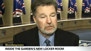 Inside New Knicks, Rangers Locker Rooms