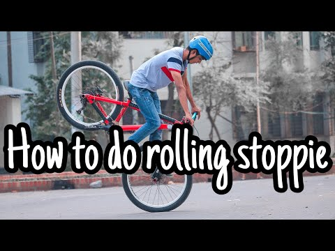 How To Do Rolling Stoppie || Fuadhassan|| Msvz