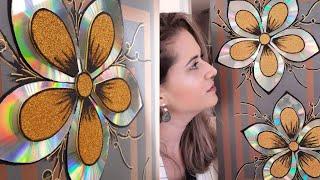 Artes com CD´s (FLORES) e(Canais sugeridos na descrição do vídeo) thumbnail