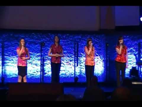 Broken Bow 1st Assembly of God Girls at 2014 OK District Assembly of God  Fine Arts Festival
