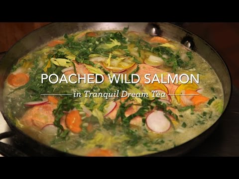 Breville and Teavana Present: Tea Time with Hugh Acheson - Poached Wild Salmon Recipe