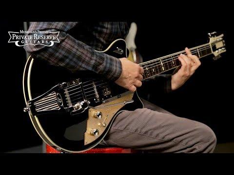Duesenberg USA Alliance Joe Walsh Semi-Hollow Electric Guitar