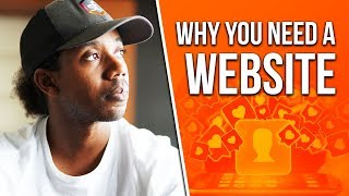 WHY YOU NEED A WEBSITE: SOCIAL MEDIA CAN FAIL YOU...