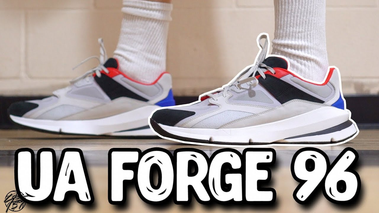 2f39efaab9d Under Armour Forge 96 First Impressions! Best Dad Shoe   - YouTube