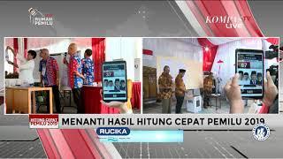 15.00 WIB, Litbang Kompas Umumkan Hasil Hitung Cepat Pemilu 2019