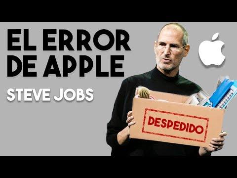 😯 ¿Por qué fue despedido de su empresa? | Biografía Steve Jobs