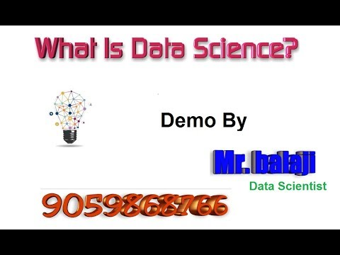 what-is-a-data-science-in-english---data-science-demo-by-balaji--vlr-9059868766-machine-learning