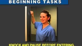 Illinois Nurse Aide Testing   Performance Skills Videos