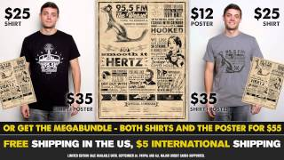 95.5 The Weasel shirts and posters now available!