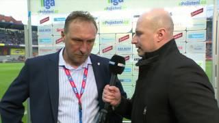 Sparta - Plzeň 2:0 rozhovor Zdeněk Bečka