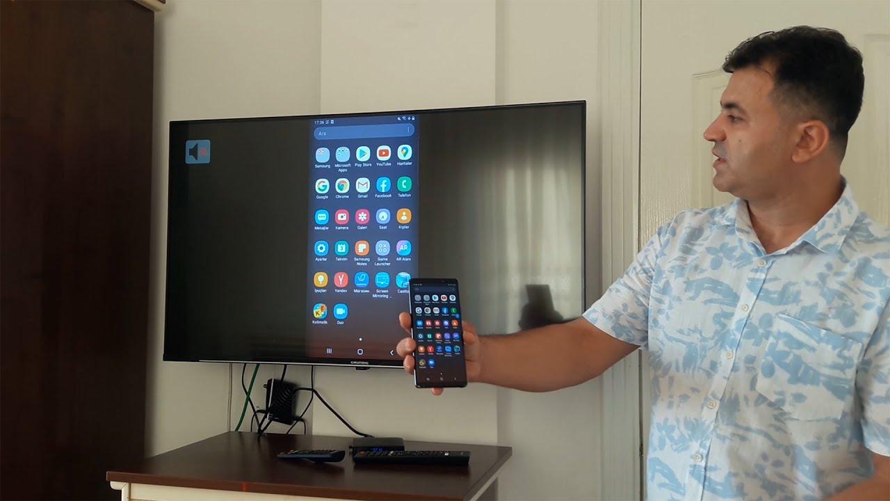 Telefon Ekranını TV'ye Kablosuz Yansıtmanın 3 Yöntemi  | 3 Ways to Screen Mirror Android Phone to TV