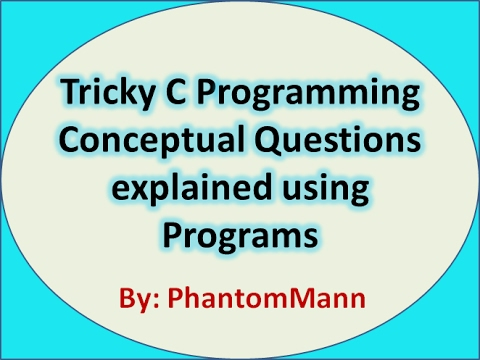 C Programming Tricky Interview Questions | Input Output Mistakes and Useful Concepts 2