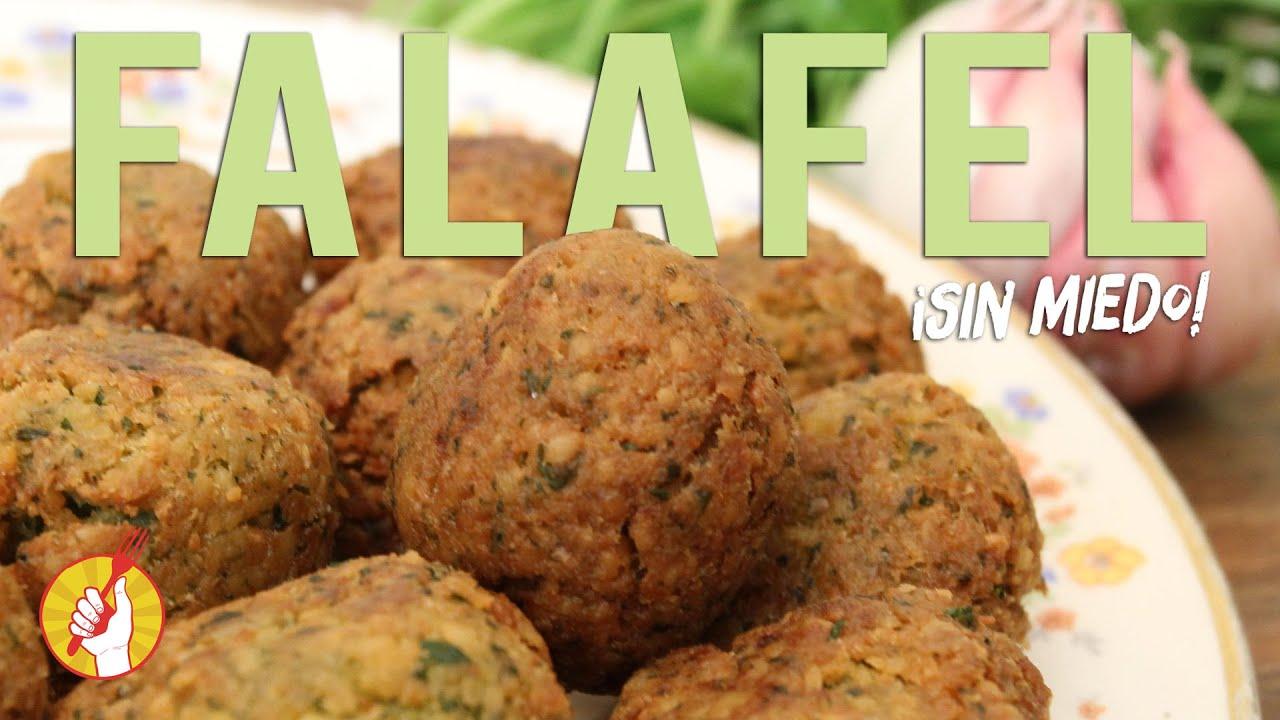Falafel de Garbanzos | Receta Fácil | Tenedor Libre