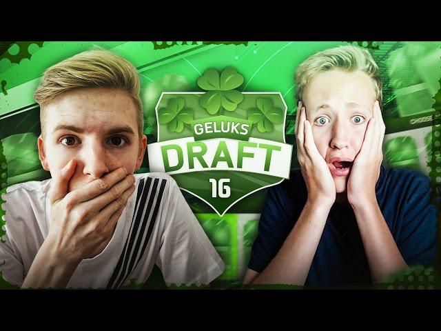 GELUKSDRAFT! #5 VS DUTCHFIFAHD - FIFA 16 NEDERLANDS