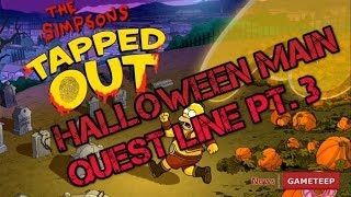 Halloween Simpsons Tapped Out - Main Quest Line Pt. 3