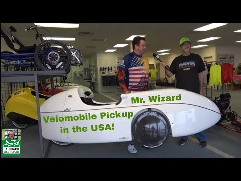 Visit to a Texas Velomobile Showroom-Bicycle Evolution-LBR at Your LBS