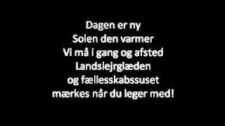 FDF når det er bedst - Landslejr 2011, tekst, musik & sang