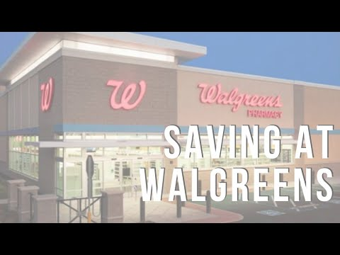 How to Save at Walgreens + Live Q&A