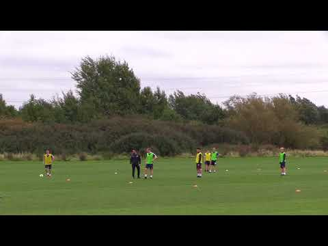 UEFA A Licence - Pressing from the front 4-3-3 vs 4-4-2 (Coach Rehan Mirza)