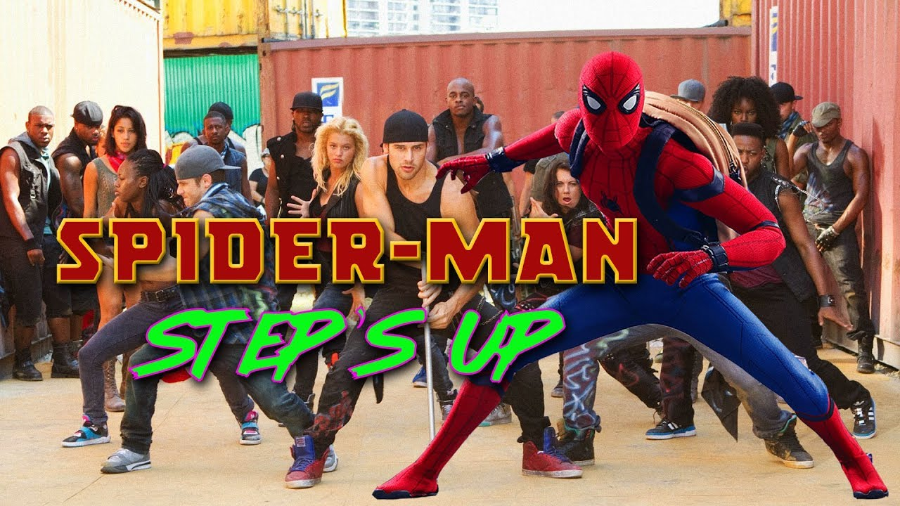 Spider-Man Steps Up