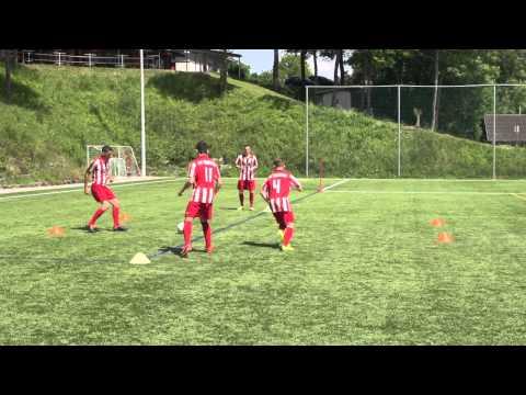 "Soccer Pass Drill ""Diamond"" from Manchester United Coach Rene Meulensteen (Coerver Coach)"