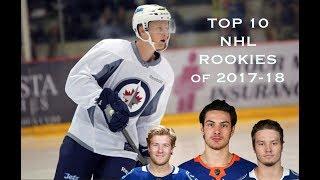 Top 10 NHL Rookies of 2017-18