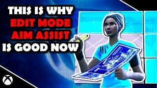 EDIT Mode AIM ASSIST est BON MAINTENANT (Fully Explained) Fortnite Battle Royale