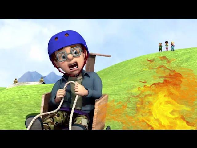 Feuerwehrmann Sam ⭐️Rennwagen Probleme!! 🔥Sam rettet den Tag! | Cartoons für Kinder