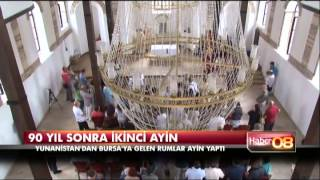 Bursa'da 90 yıl sonraki ayin