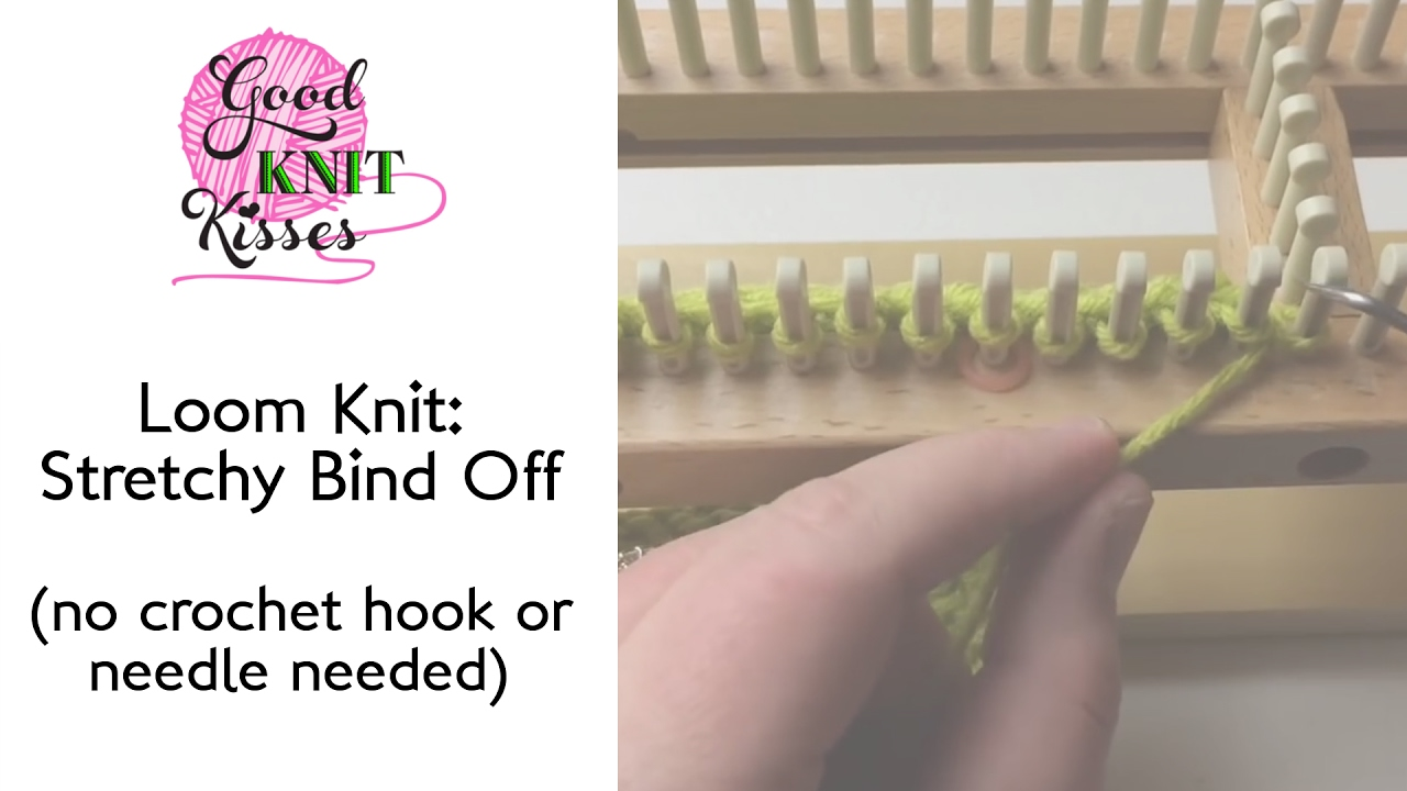 Binding Off Knitting Loom Image collections - handicraft ideas home ...