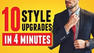 10 QUICK & EASY Casual Style Upgrades (In 4 Minutes!) To Level Up Your Look!   RMRS Style Videos