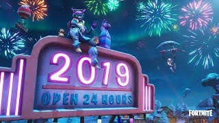 NEW YEARS *LIVE* EVENT Gameplay! Fortnite 2019 Countdown