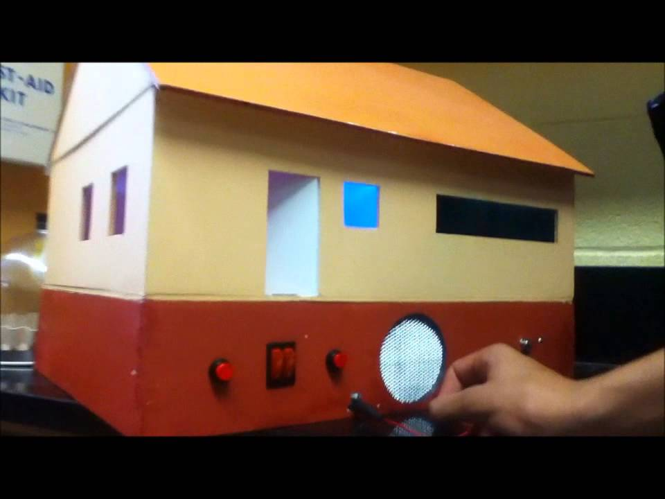 Science Circuit House Project - YouTube