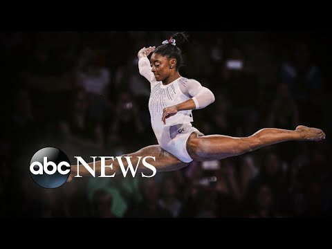 Mimi Brown - Simone Biles Wins Again And Sets World Record