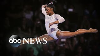 Simone Biles wins fifth world all-around title l ABC News