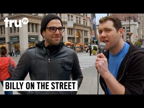 """Billy on the Street - """"It's Spock! Do You Care?"""" with Zachary Quinto"""