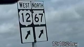 RDMVTL 6280 ~ 4/10/2004 DRIVING TO WISCONSIN P15 ~ KENOSHA TO MADISON