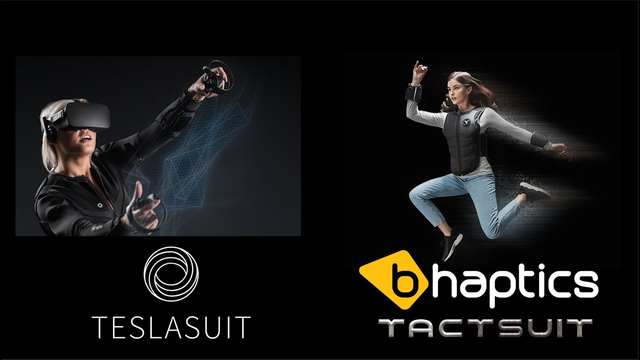 Battle of the Haptic Suits (Teslasuit vs bHaptics)
